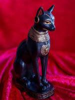 Bastet - im alten Ägypten verehrt.