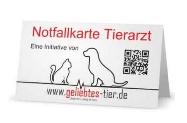 Notfallkarte Tierarzt