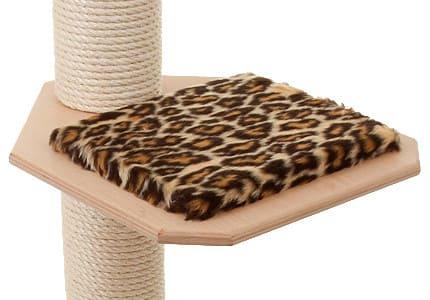 Natur-Plüsch-Leopard