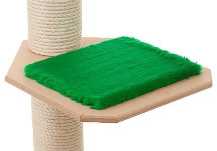Natur-Plüsch-Tannengrün