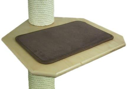 Indoor-Teppich-Braun
