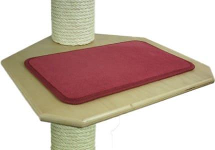 Indoor-Teppich-Rot
