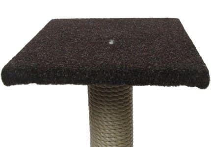Outdoor-Teppich-Dunkelbraun