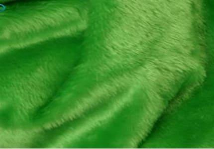 Plüsch-Hellgrün
