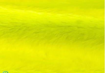 Plüsch-Neongelb