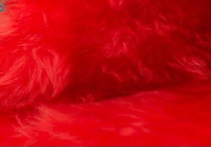 Plüsch-Rot