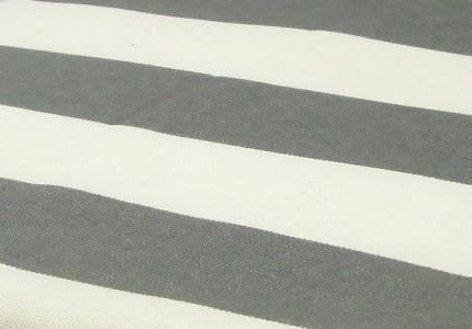 Stoff-Dunkelgrau-Weiß