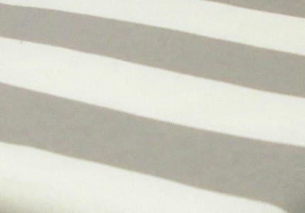 Stoff-Hellgrau-Weiß