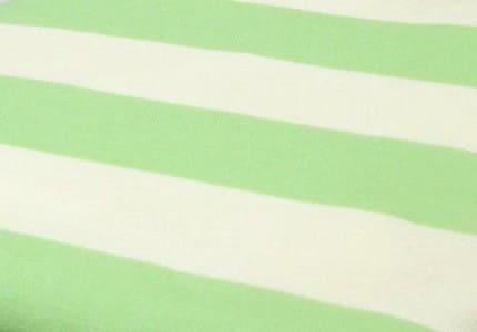 Stoff-Hellgrün-Weiß
